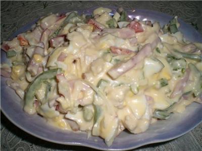 Салат питерский с курицей рецепт
